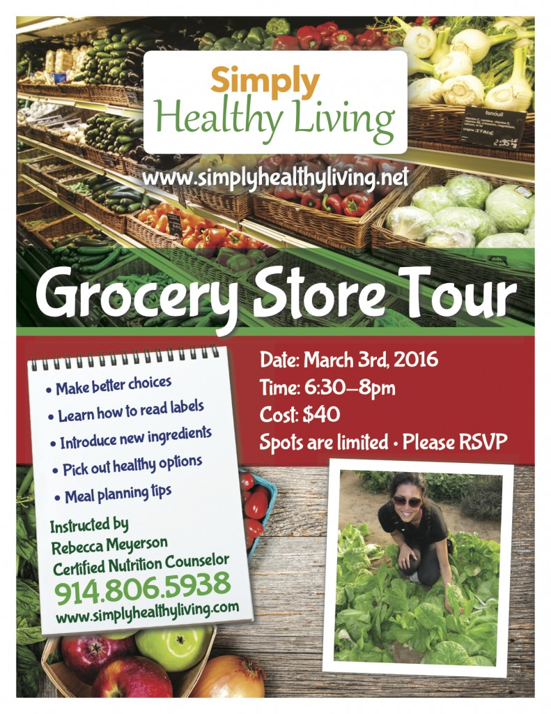 Grocery Tour Flyer