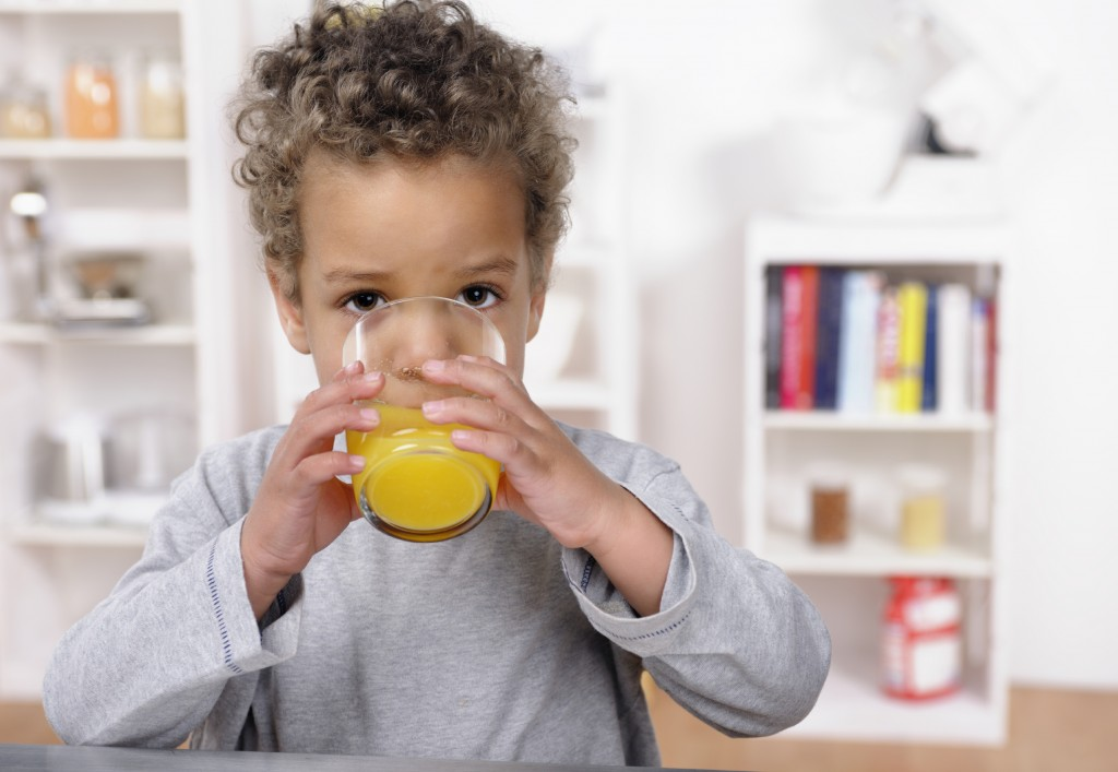 toddler-drinking-juice
